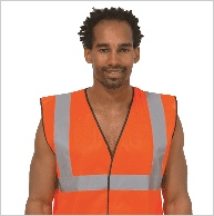 Uneek UC801 Hi Viz Vest Orange